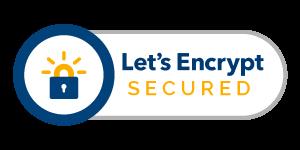 Website Secured by Let's Encrypt